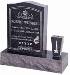 18in_Wide_Serp_Top_Monument_P5_with_Vase_in_Imperial_Grey-Front1
