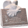 24inch_x_18inch_x_24inch_carved_angel_slant_headstone_polished_front_and_back_with_inch_base_in_desert_pink_with_design_1