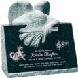 24inch_x_18inch_x_24inch_carved_angel_slant_headstone_polished_front_and_back_with_inch_base_in_emerald_pearl_with_design_1