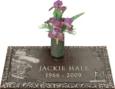 24x12 Dark Bronze Golf Scene and Vase Front Perspective