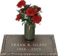 24x12 Dark Bronze Ivy 1 and Vase Front Perspective