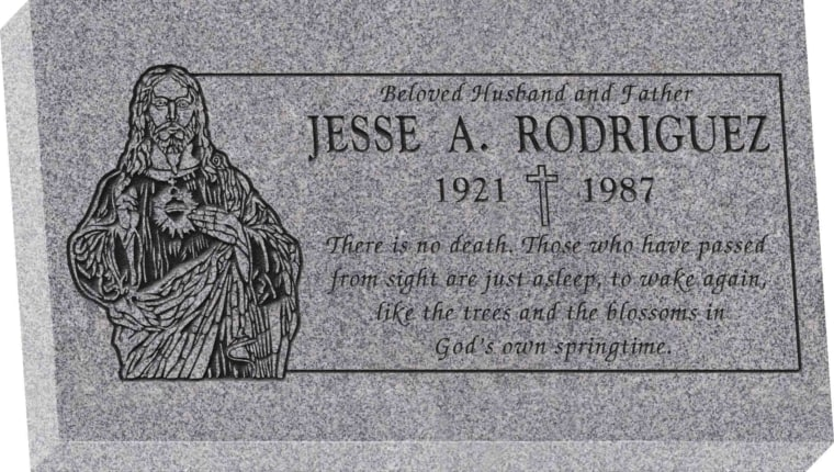 28inch_x_16inch_x_4inch_Flat_Granite_Headstone_in_Grey_with_design_SD-325