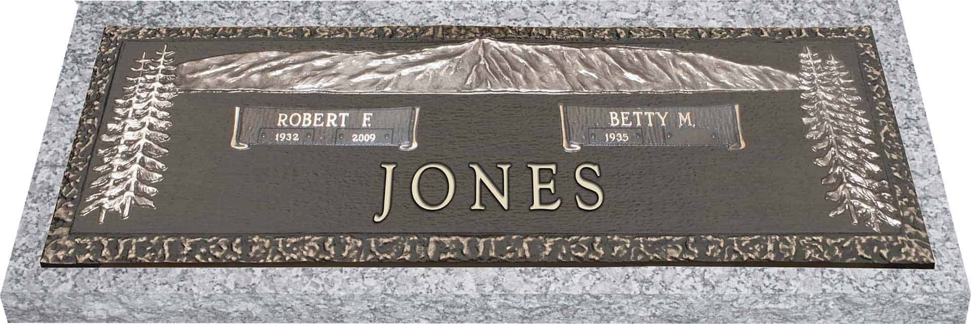 bronze headstone 36x13 companion honor life Headstone Tombstone Clip Art Jesus Arms Clip Art