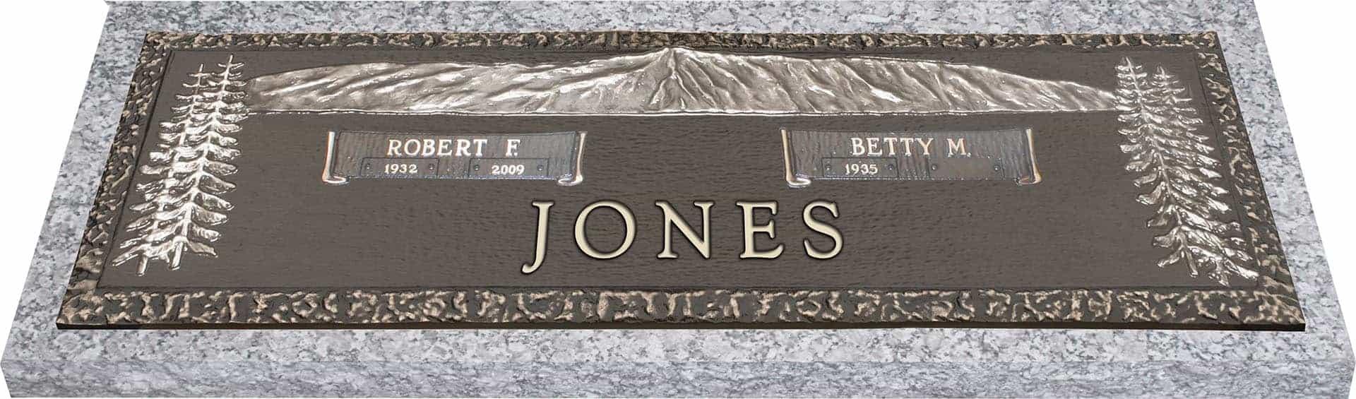 bronze headstone 44x14 companion honor life Gravestone Clip Art Headstone Tombstone Clip Art