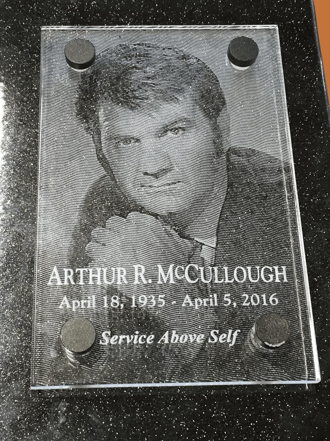 "Service Above Self – Arthur ""Art"" McCullough"