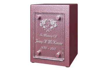 Cremation_Urn_with_Glass_Front_in_Silver_Rose_Angle