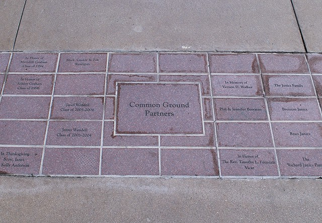 St. John's Donor Pavers