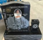Pitt Upright Headstone Testimonial