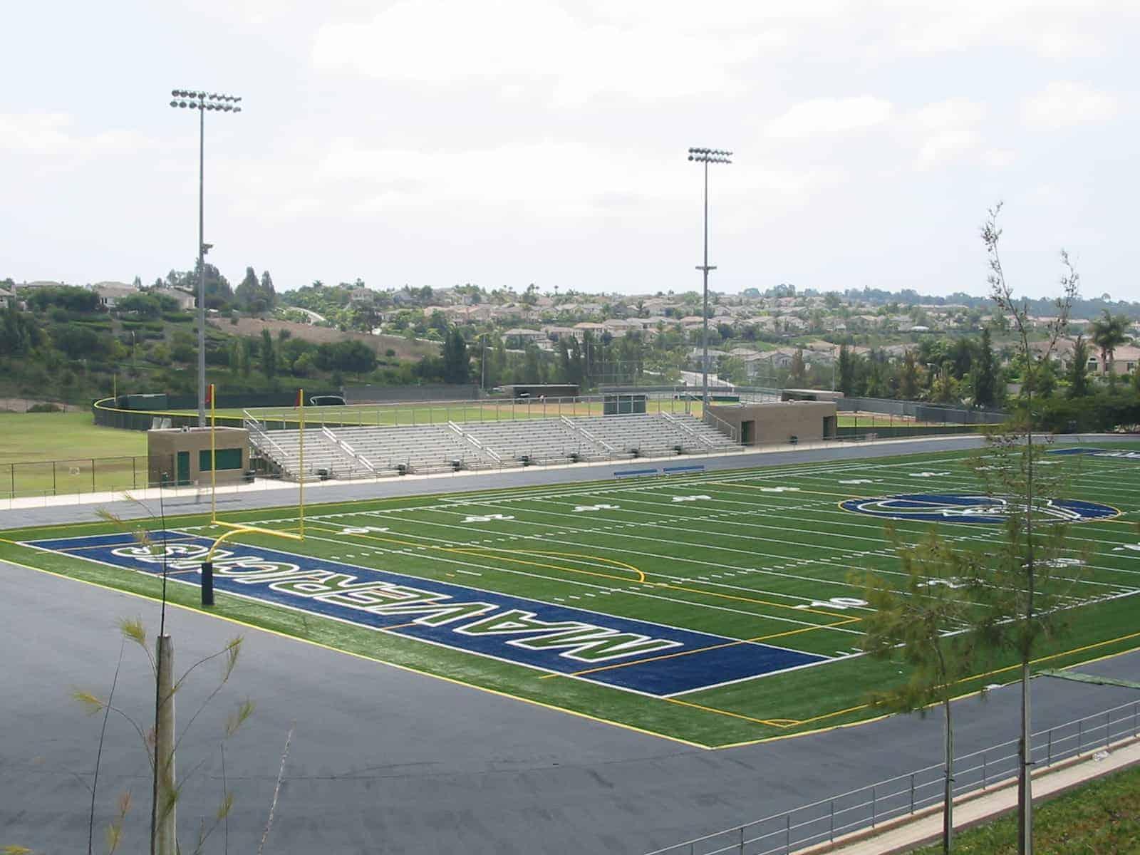 La Costa Canyon High School field