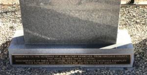 bronze war plaque
