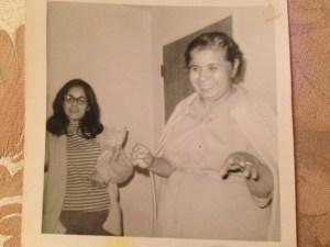 Grandma and Mom