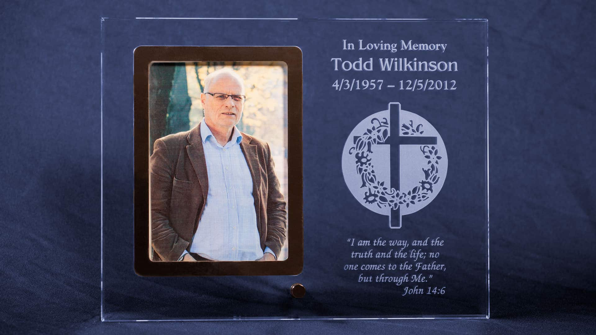 Personalized Memorial Picture Frame | Honor Life