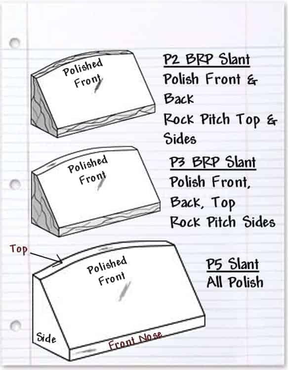 Polished Slant Styles