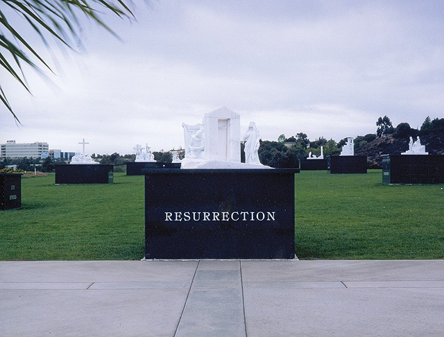 El Camino Memorial Park, Garden of the Resurrection
