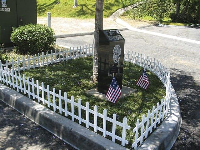 Vista Police Memorial